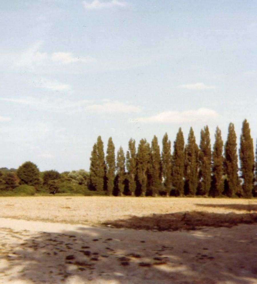 Le terrain du Yacht Club de Draveil en 1979