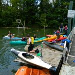 kayak plan d'eau