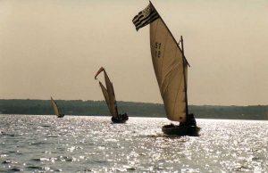 Un voilier Seil en mer