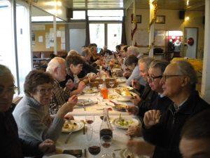 Un repas amical a clos l'assemblée générale du 12 décembre