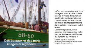 """couverture du livre """"des bateaux et des mots"""""""